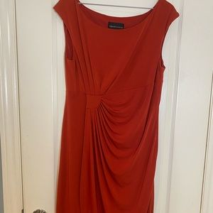 Connected Apparel Red/Orange Dress
